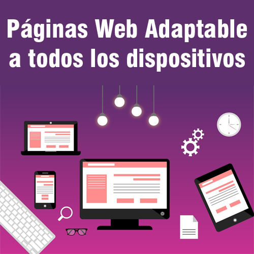 Paginas web adaptables a todos los dispositivos