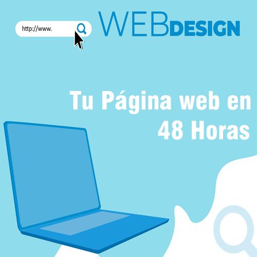 Tu pagina web en 48 horas